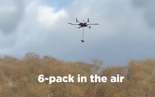 #360 Video   -   6-pack-gopro in the air